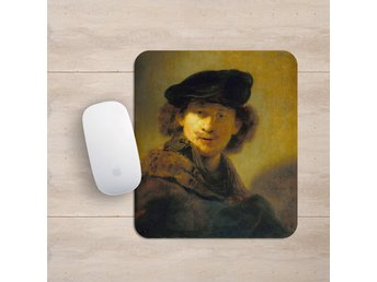 Rembrandt Self Portrait With Velvet Beret Musmatta