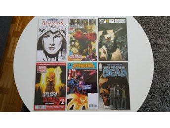 Free Comic Book Day Assassins Creed One-Punch Man Judge Dredd The Walking Dead