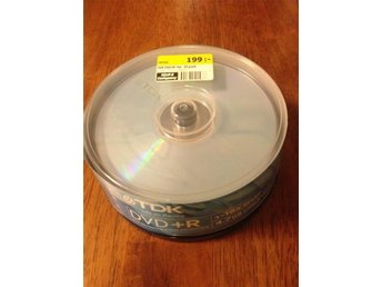 TDK DVD+R 4,7GB 25pack