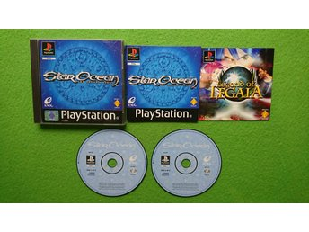 Star Ocean The Second Story ENGELSK TEXT Playstation ps1 PS 1