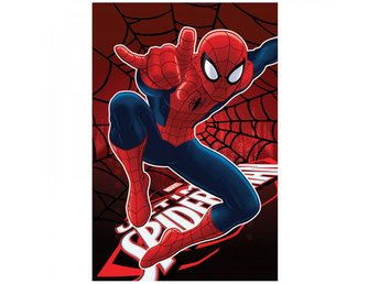 Spiderman - Spindelmannen Fleece Filt