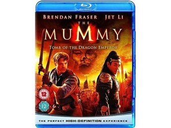 The Mummy - Mumien - Drakkejsarens grav - Bluray Blu-Ray