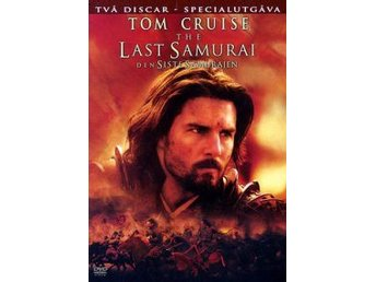 Last Samurai - Den siste samurajen (2disc)-Tom Cruise och William Atherton