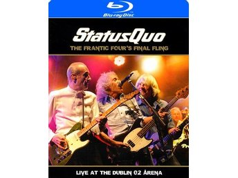 Status Quo: Frantic four's final fling/Live 2014 (Blu-ray + CD)