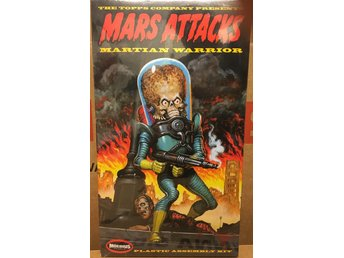 MARS ATTACKS MARTIAN WARRIOR          Moebius ca 30cm  Byggsats