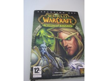 SPEL PC FRÅN BLIZZARD WORD OF WARCRAFT THE BORNING CROSADE
