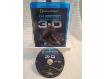 Sea monsters- A prehistoric adventure  3D  blu-ray