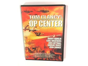 Tom Clancy OP CENTER / DVD / Harry Hamlin / Carl Weathers / Kim Cattrall