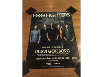 FOO FIGHTERS TURNÉAFFISCH 2015