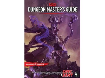 Dungeons & Dragons Dungeon Masters Guide 5th Edition (Inbunden)