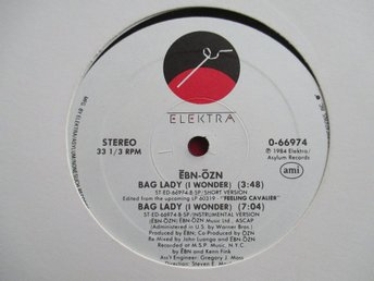 "12"" maxi: EBN-OZN Big Lady (USA 1984) Synth!"