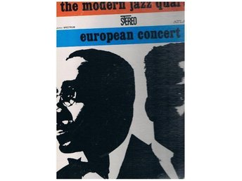 The Modern Jazz Quartet:EuropeanConcert Atlantic 2LPSD 2-603
