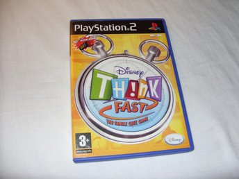 "Disney Think Fast ""The Family Quiz Game"" till Playstation 2"
