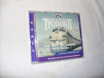 Railroad Tycoon II The Next Millenium Special Edition Mac & PC CD ROM