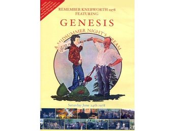 Remember Knebworth 1978 featuring Genesis A midsummer dvd