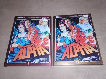 DVD-BOX MÅNBAS ALPHA 1 EPISOD 1-12 + 2 EPISOD 13-24