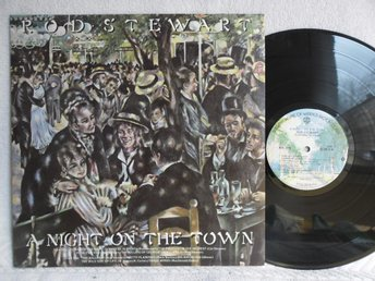 ROD STEWART - A NIGHT ON THE TOWN - WARNER BROS BSK 3116