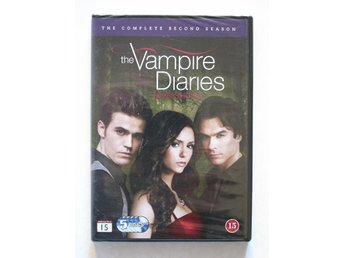 DVD box The Vampire Diaries The complete second season (ny)