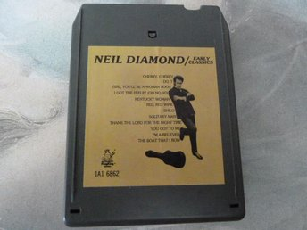 NEIL DIAMOND, EARLY CLASSICS,  KASSETTBAND, 8-TRACK