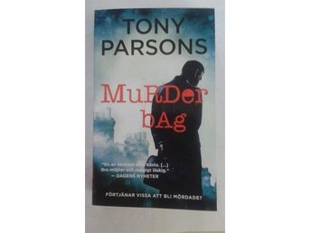 MURDER BAG - TONY PARSONS - 2015 - NYSKICK - POCKET