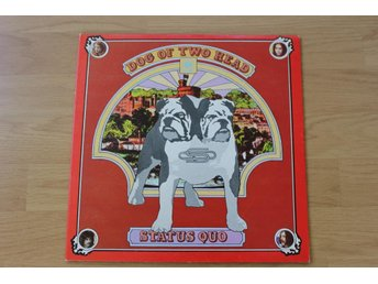 LP. Vinyl. Status Quo. Dog of two head.