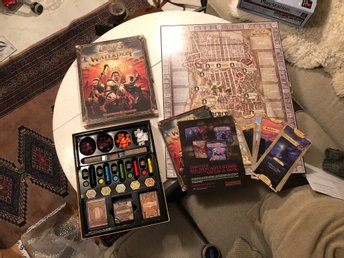 Dungeons & Dragons Lord of the waterdeep Board Game