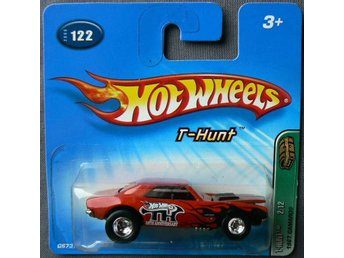 1967 Chevrolet Camaro Hot Wheels Nr122 2005 Treasure Hunt T-Hunt 2/12