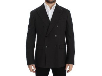 Dolce & Gabbana - Brown wool slim fit blazer