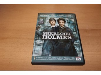 DVD-film: Sherlock Holmes (Jude Law, Robert Downey Jr.)