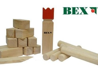 Kubb Red King Bex.