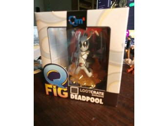Ny! RARE Q figure DEADPOOL Marvel 2015 LOOTCRATE EXCLUSIVE
