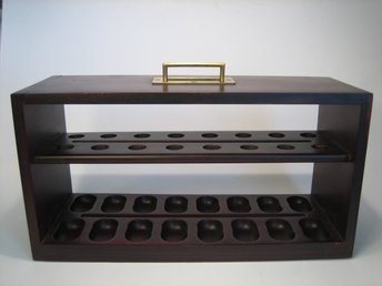 Så fint äldre pipställ. Savinelli Milano Italy 60-tal. Pipe Rack stand. Pipa