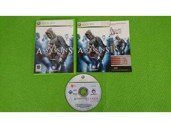 Javascript är inaktiverat. - Västerhaninge - Assassins Creed till Xbox360 Skick enligt bild. Fungerar på din svenska/europeiska konsol.Engelsk text/språk i spelet. Vid köp av fler varor med fraktkostnad betalar du endast högsta enskilda frakten, resten bjuder jag på :)Alla varo - Västerhaninge