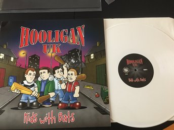 Hooligan UK ‎– Kids With Bats  Limited 150ex (Oi! Skinhead Ultima Thule )
