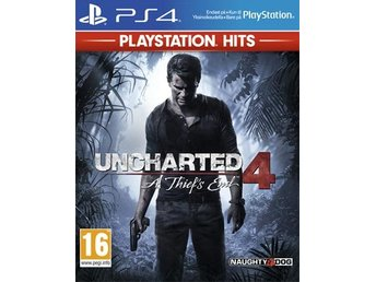 Uncharted 4 A thief's end - HITS (PS4)