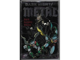 Dark Nights Metal: Dark Knights Rising HC NM Ny Import