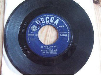 Brian Poole & The Tremeloes ‎– Do You Love Me + 1