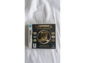 NINTENDO DS - PROFESSOR LAYTON AND THE CURIOUS VILLAGE