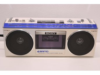 SONY 4BAND STEREO CASSETTE RECORDER CFS-330L