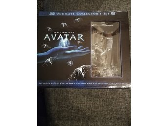 Avatar Ultimate Collection BluRay. 6-Disc Inkl staty Ny!