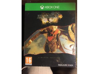 NYTT! FINAL FANTASY TYPE-0 HD LIMITED STEELBOOK EDITION - XBOX ONE