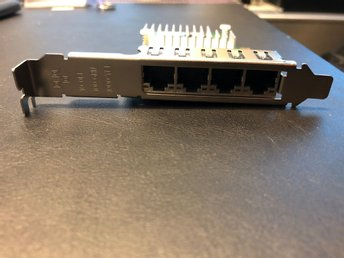 Fujitsu D2745 4-port Ethernet Gigabit Server Adapter