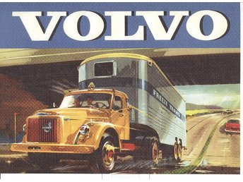 Volvo Freeze Trans - Plansch/Poster 30x40