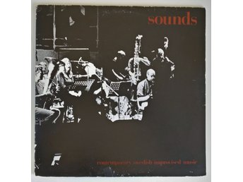 Sounds - Contemporary Swedish Improvised Music, 2 x LP, NM