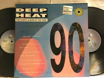 DEEP HEAT - DANCE ALBUM OF THE YEAR - V/A - 2-LP
