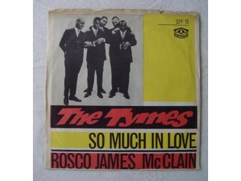 "THE TYMES - So Much In Love, Swe-1963 45"" Blå Vinyl!"