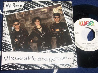 "MATT BIANCO - WHOSE SIDE ARE YOU ON 7"" 1984"