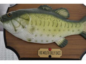 SJUNGANDE FISK-BIG MOUTH BILLY BASS
