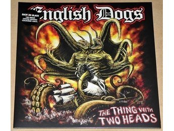 English Dogs - The Thing With Two Heads ( Limited Edition ,Coloured Vinyl),LP - Reftele - English Dogs - The Thing With Two Heads ( Limited Edition ,Coloured Vinyl),LP - Reftele