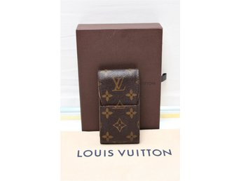 Louis Vuitton Cigarette Case i Monogram Canvas (Cigarettetui Mobilväska iPod)